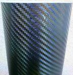 Film carbone covering 3D Noir #Big Texture