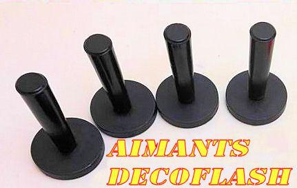 4 Aimants Pro Magnétique Covering
