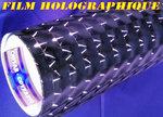 film vinyl adhésif covering holographique pour total covering