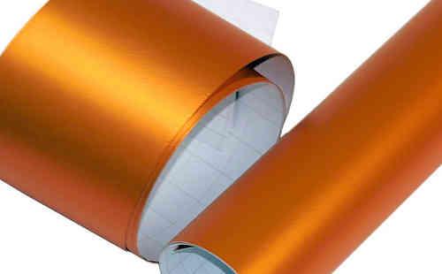 Film covering orange