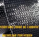 véritable fibre de carbone