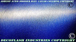 Adhésif covering effet acier Brossé Bleu Indigo thermoformable 1M x 1M52