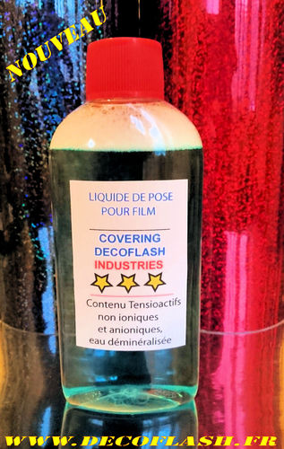 Liquide de pose covering pour film covering